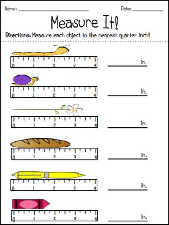 Measuring to the Nearest 1 4 Inch Worksheet Also 1384 Best εκπαίδευση Images On Pinterest