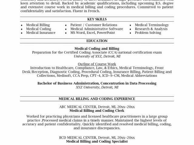 Medical Coding Practice Worksheets as Well as Example Medical Billing and Coding or Medical Billing Resume 20
