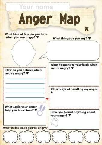 Medication Management Worksheets Activities together with Free Anger and Feelings Worksheets for Kids