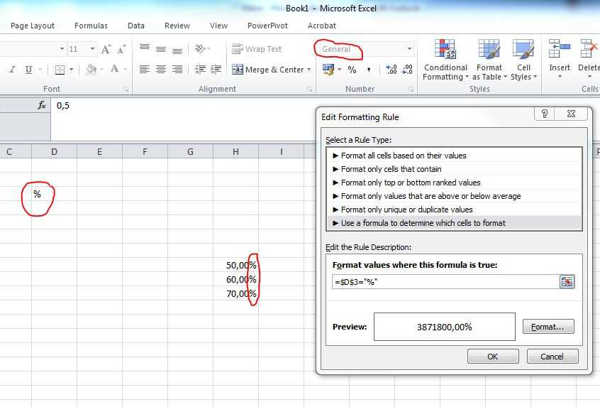 Menu Engineering Worksheet Excel and Microsoft Excel 2010 Create A Number formatting that Changed Based