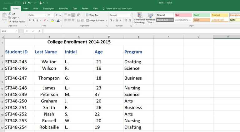 Merge Worksheets In Excel or How to Create An Excel Database