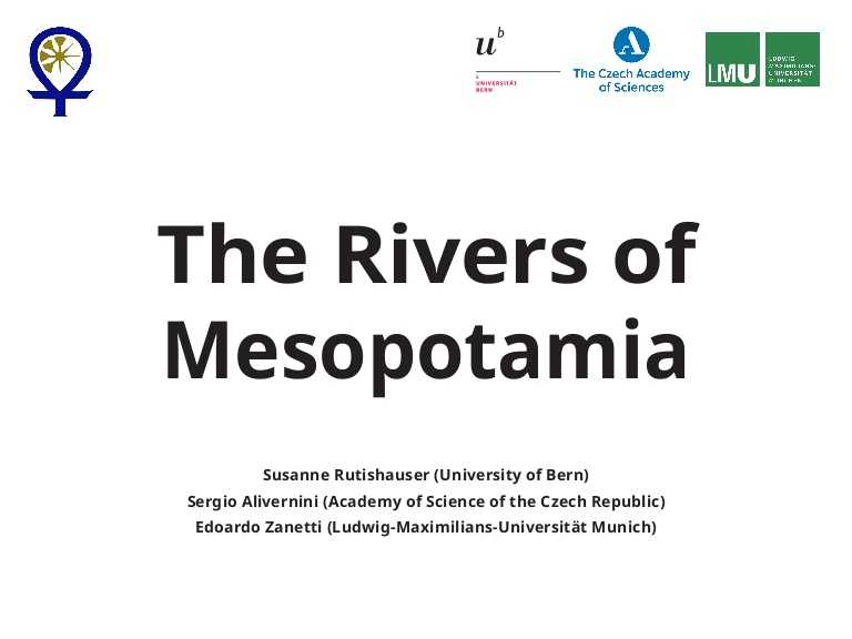 Mesopotamia Reading Comprehension Worksheets Along with the Rivers Of Mesopotamia Reconstruction Of the Hydrology Of Sumert…