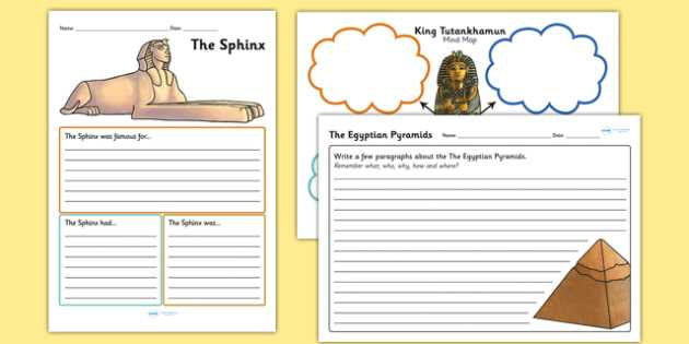 Mind Map Worksheet with Ancient Egyptian Mind Maps and Worksheets Ancient Egypt