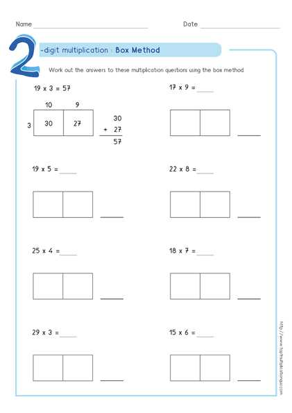 Multiply Using Partial Products 4th Grade Worksheets or Partial Products Worksheets the Best Worksheets Image Collection