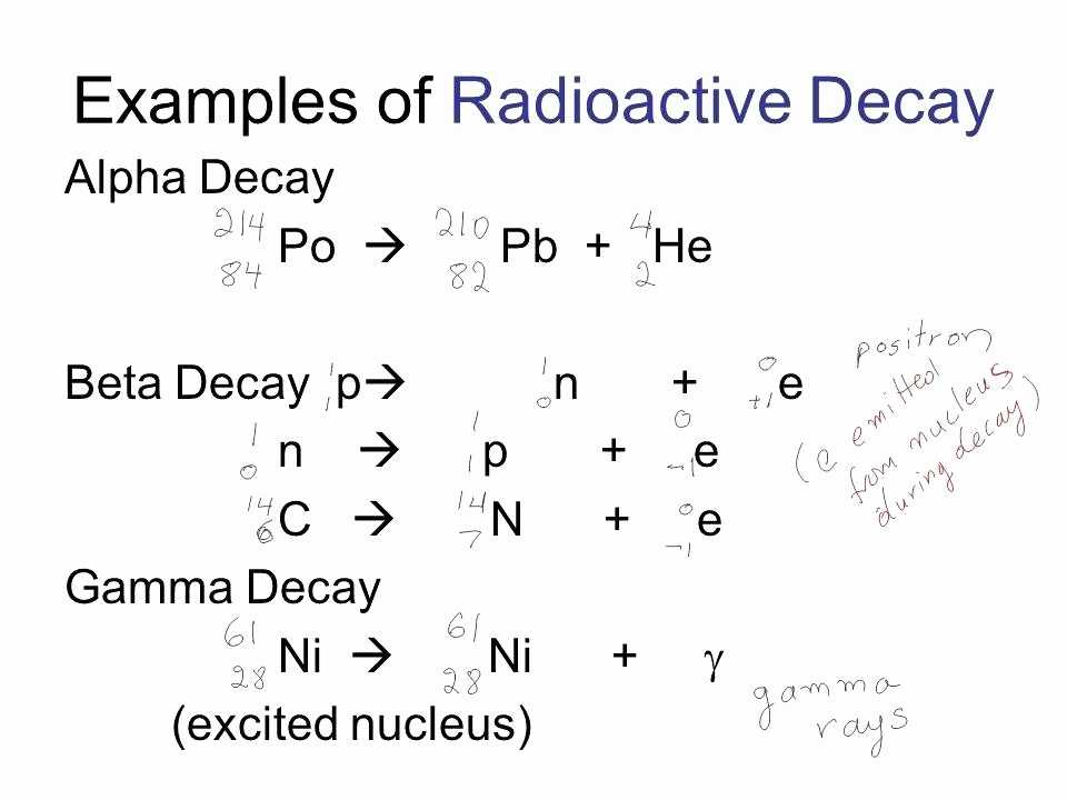 Nuclear Decay Worksheet Answers Also Nuclear Chemistry Worksheet Answers Beautiful Nuclear Decay