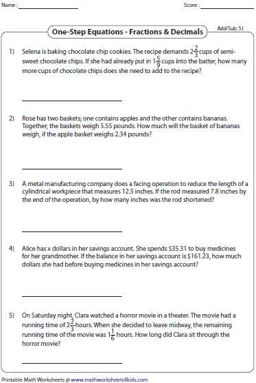 One Step Equations with Fractions Worksheet as Well as Worksheets 47 Inspirational E Step Equations Worksheet High