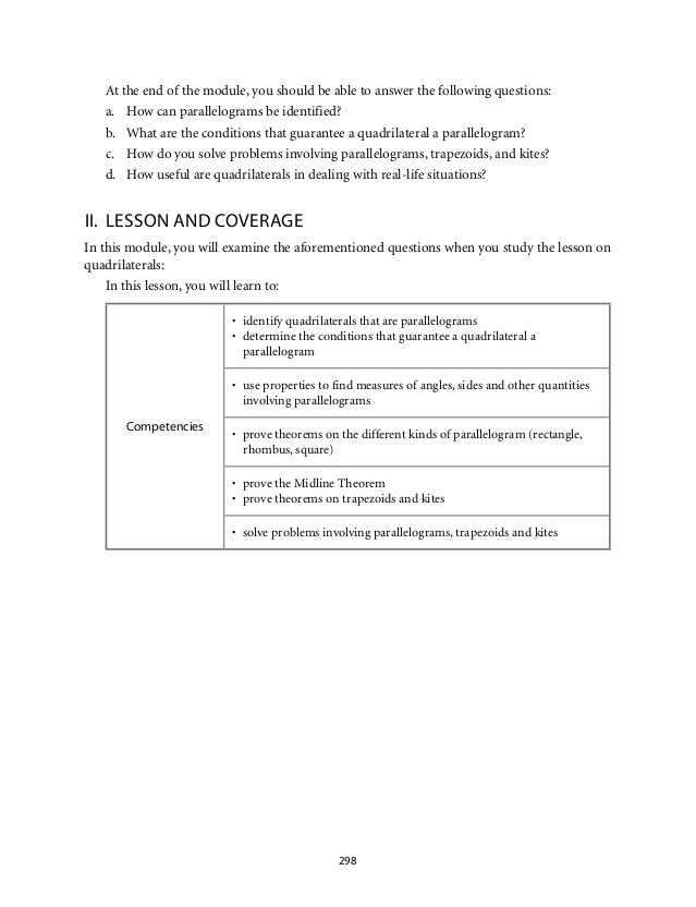 Parallelogram Proofs Worksheet Along with Grade 9 Mathematics Module 5 Quadrilaterals Lm