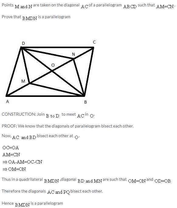 Parallelogram Proofs Worksheet as Well as Selina Icse solutions for Class 9 Maths Rectilinear Figures