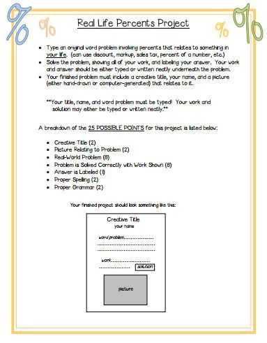 Percent Discount Word Problems Worksheet and Personal Percent Problems