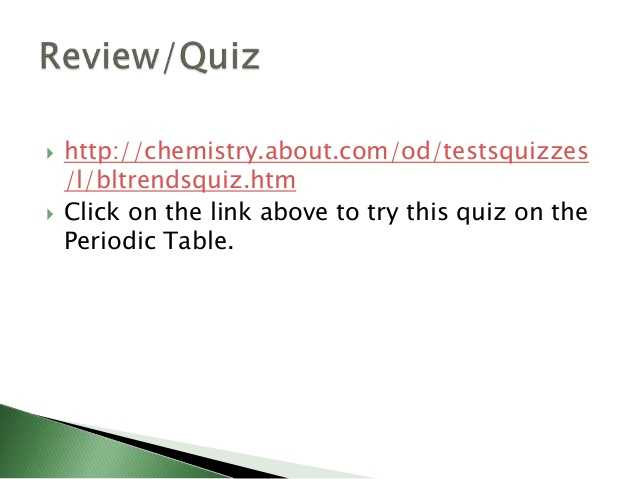 Periodic Trends Practice Worksheet Also Chemistry M1 the Periodic Table