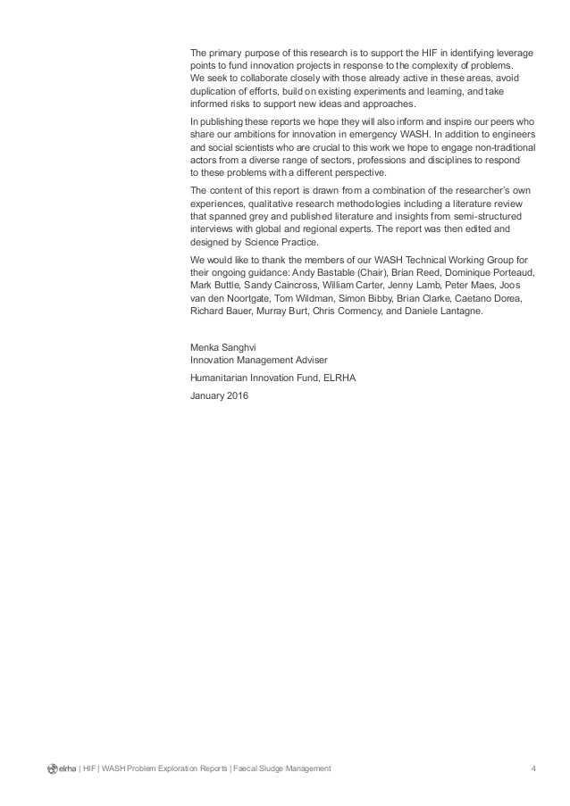 Peters Experiment Worksheet Answer Key or Faecal Sludge Management Wash Problem Exploration Report