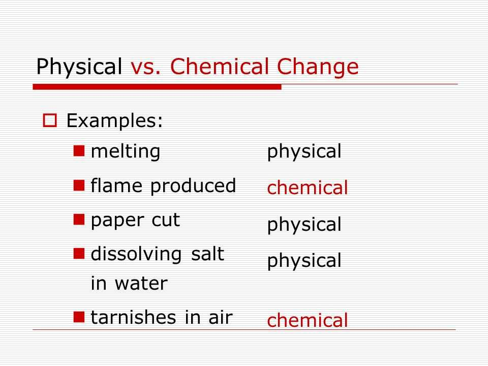 Physical Chemical Changes Worksheet and What S the Matter Classify Changes Of Matter Matter Classify