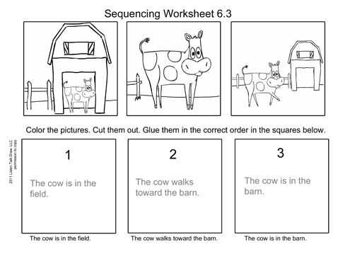 Picture Sequencing Worksheets Also 129 Best Sequencing Images On Pinterest