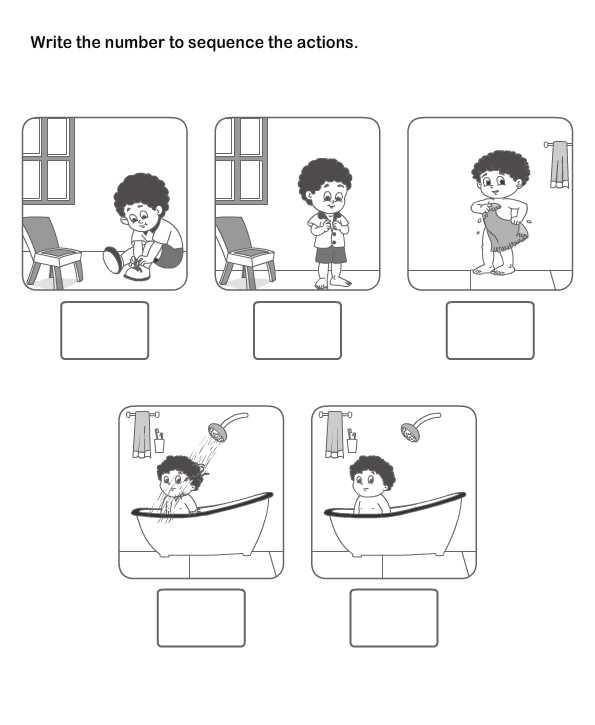 Picture Sequencing Worksheets and Picture Sequence Learning Arrange Series Of Picture