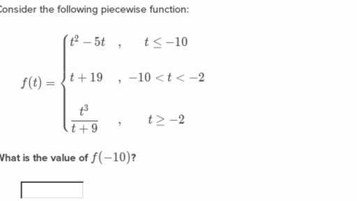 Piecewise Functions Worksheet 1 Answers with Introduction to Piecewise Functions Algebra Video