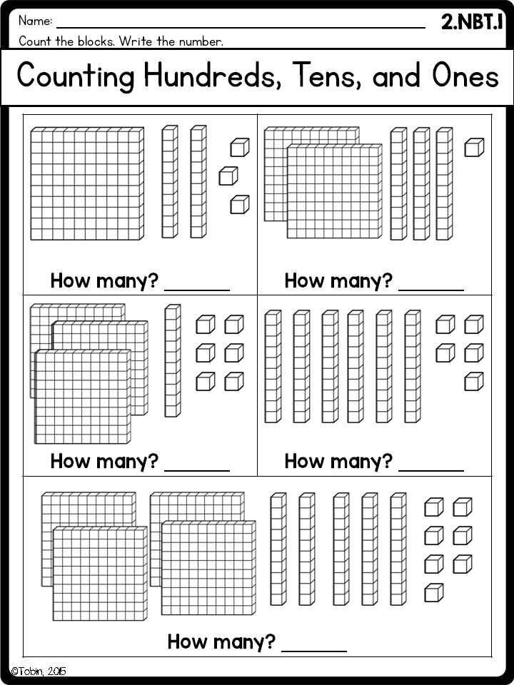 Place Value 10 Times Greater Worksheet with 2nd Grade Math Printables Worksheets Numbers and Operations In Base