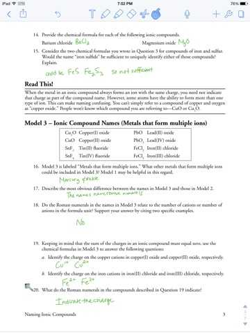 Polyatomic Ions Worksheet Answers Pogil and Naming Ionic Pounds Worksheet Pogil Kidz Activities