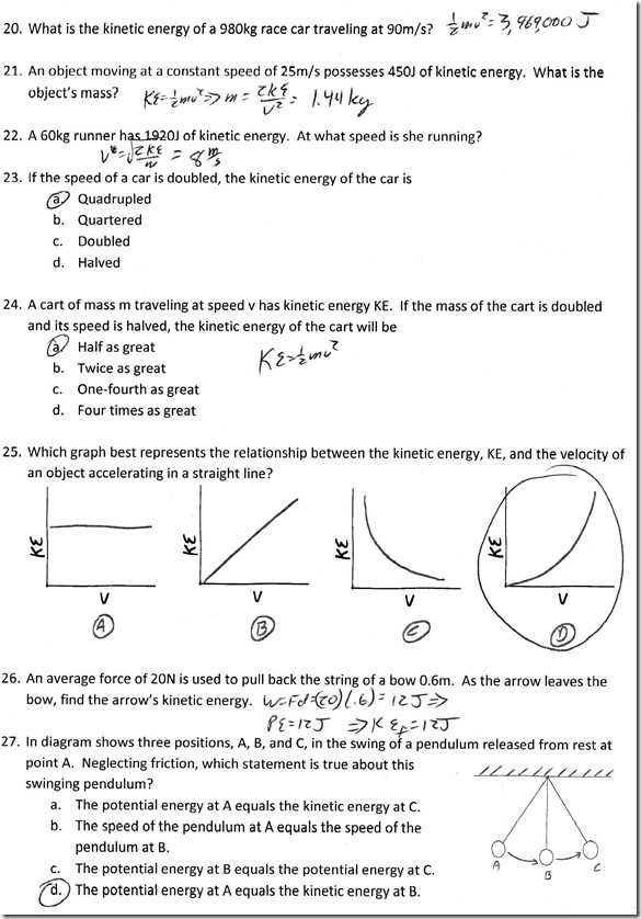 Potential Energy and Kinetic Energy Worksheet Answers or Skills Worksheet Math Skills Kinetic Energy Answers Kidz Activities