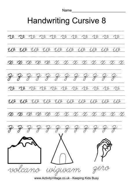 Printable Cursive Handwriting Worksheet Generator and 31 Best Handwriting Worksheets for Kids Images On Pinterest