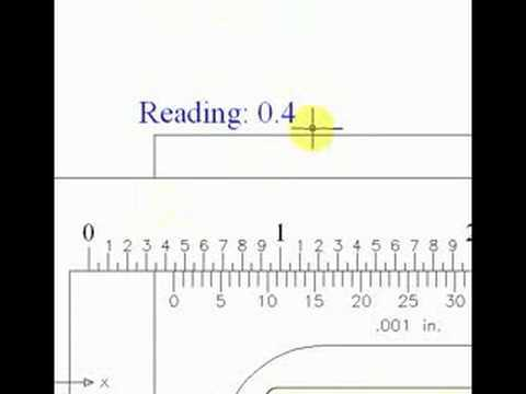 Reading A Tape Measure Worksheet or How to Read A Vernier Caliper