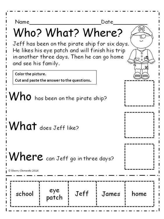 Reading and Questions Worksheets with Worksheets 45 Lovely Prehension Worksheets High Resolution