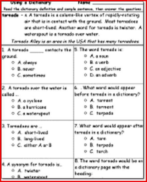 Reading Comprehension Worksheets for 2nd Grade and 3rd Grade Reading Prehension Printable Worksheets for All