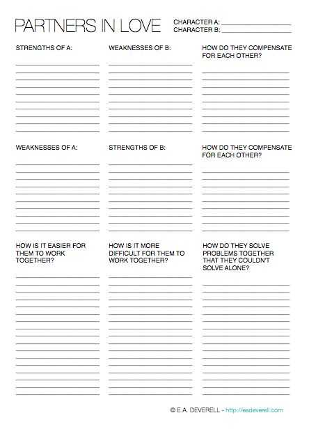 Relationship Worksheets for Couples Pdf with 112 Best Writing Images On Pinterest