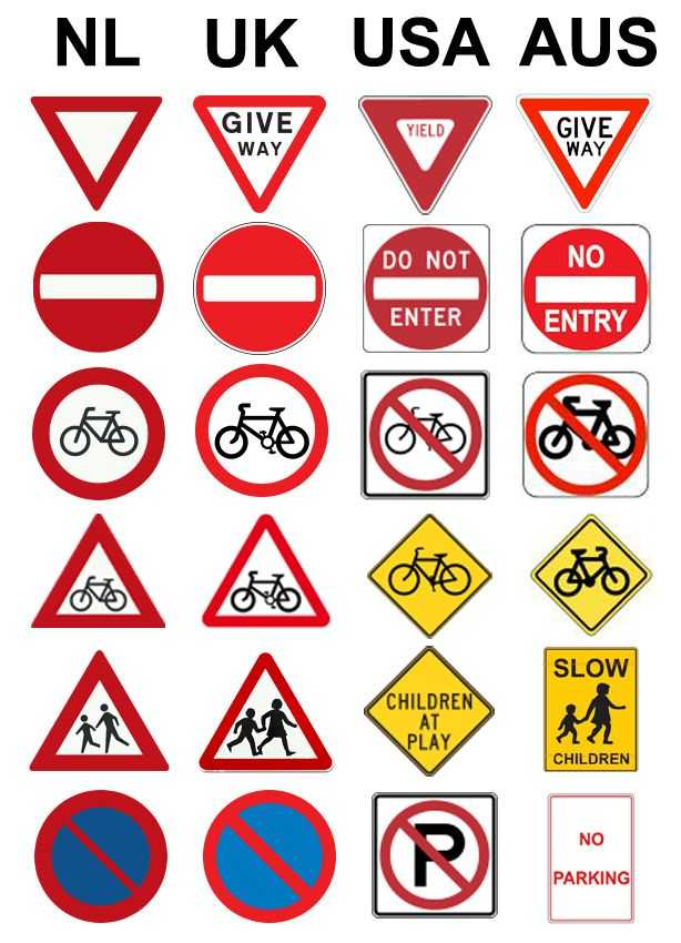 Safety Symbols Worksheet together with Road Signs for Cycling In the Netherlands