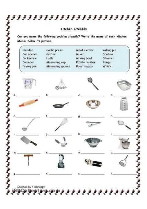 Science Skills Worksheet and Utensils Helena S Cupcake Wars themed Birthday Party