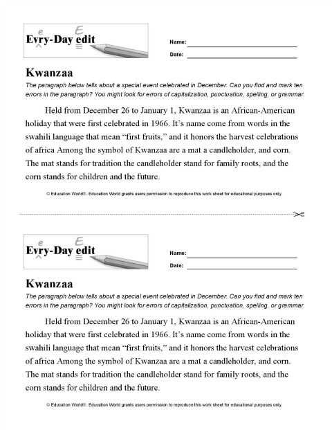Sentence Editing Worksheets or 346 Best Language Skills Every Day Edits Images On Pinterest