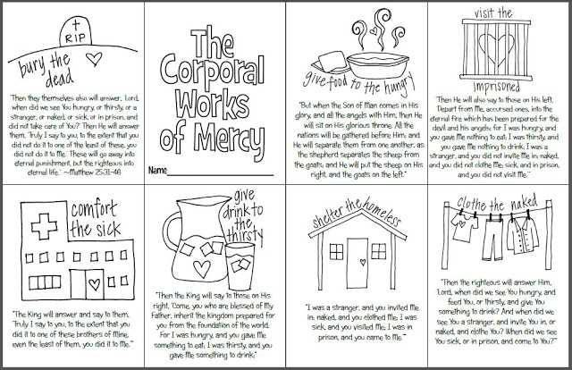 Seven Sacraments Worksheet together with Matthew 25 31 46 Coloring Page Gospel Of Matthew 2531 46 Articles