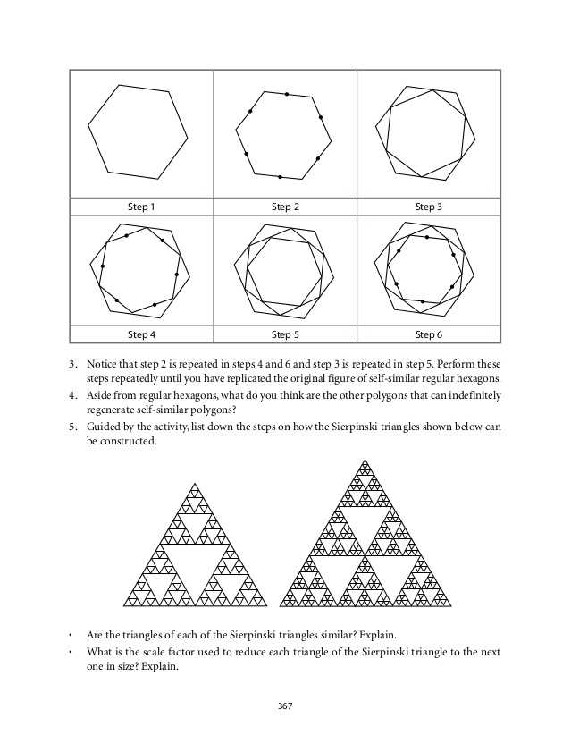 Sierpinski Triangle Worksheet Answers together with Grade 9 Mathematics Module 6 Similarity