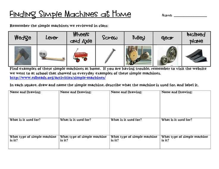Simple Machines Worksheet Answers as Well as 7 Best Simple Machines Worksheet Images On Pinterest