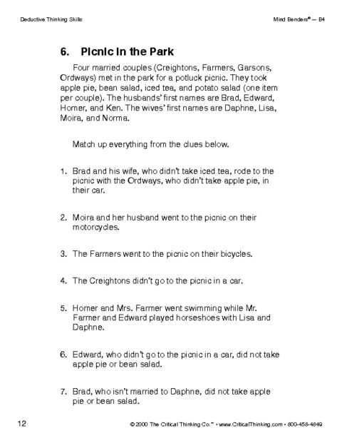 Skills Worksheet Critical Thinking Analogies Environmental Science and 26 Best Logic and Critical Thinking Images On Pinterest