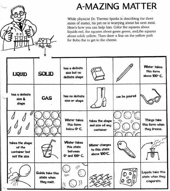 Solid Liquid Gas Worksheet Along with 27 Best State Of Matter solid Liquid Gas Images On Pinterest