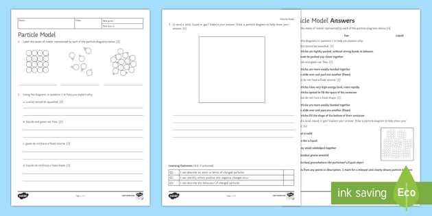 Solid Liquid Gas Worksheet or Particle Model Homework Worksheet Activity Sheet Homework