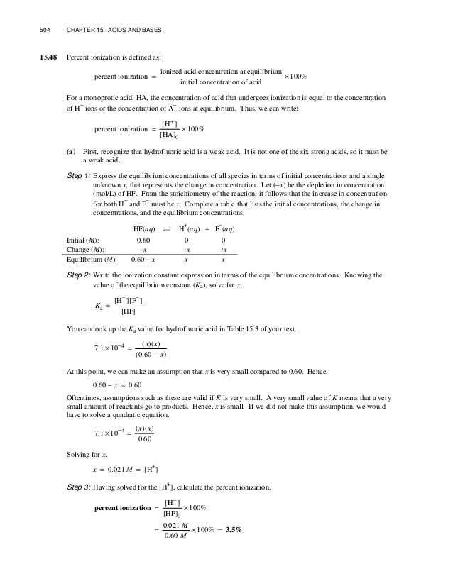 Solutions Worksheet Answers Chemistry Along with Chang Chemistry 11e Chapter 15 solution Manual
