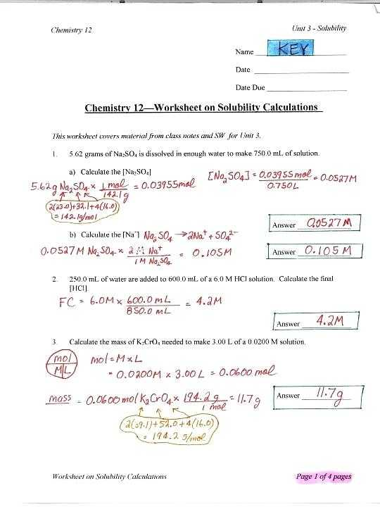 Solutions Worksheet Answers Chemistry together with Worksheet solutions Introduction Answers Kidz Activities