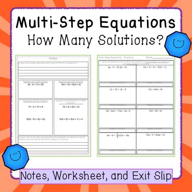 Solving Equations with Variables On Both Sides Worksheet 8th Grade with Awesome solving Equations with Variables Both Sides Worksheet