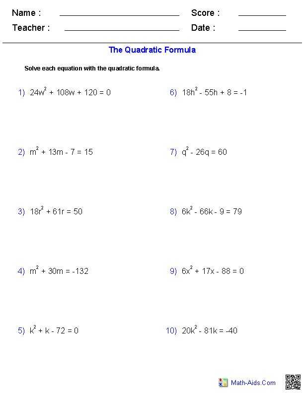 Solving Quadratic Equations by Completing the Square Worksheet Algebra 1 with 70 Best Quadratic Equations Images On Pinterest
