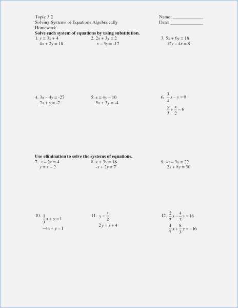 Solving Systems by Substitution Worksheet Along with Worksheets Wallpapers 43 New Graphing Quadratic Functions Worksheet