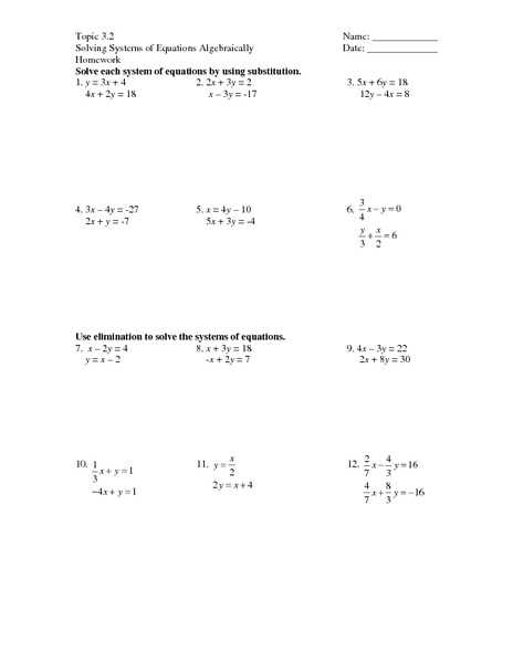 Solving Systems Of Equations by Elimination Worksheet Answers as Well as Worksheets 47 Awesome solving Rational Equations Worksheet Full Hd