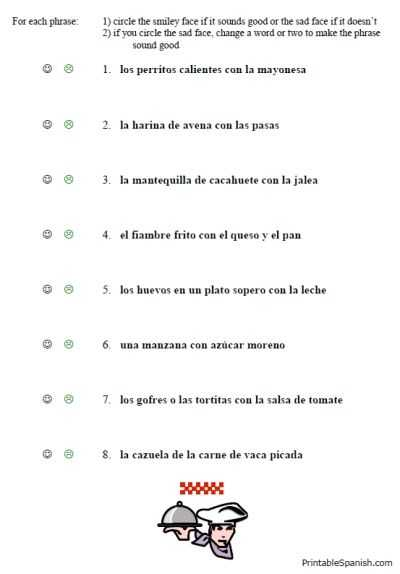 Spanish Greetings Worksheet Along with Free Printable Spanish Worksheet Packet On Food Vocabulary Lunch