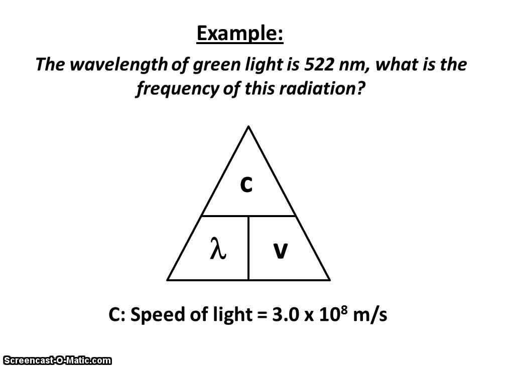 Speed Frequency Wavelength Worksheet together with 1 C This Shows the Equation Dealing with Frequency Wavelength and