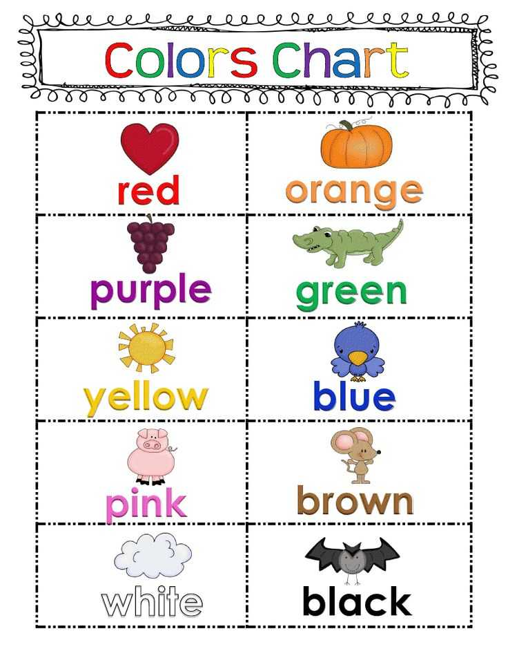 Spelling Color Words Worksheet Along with Color Words Worksheets for All