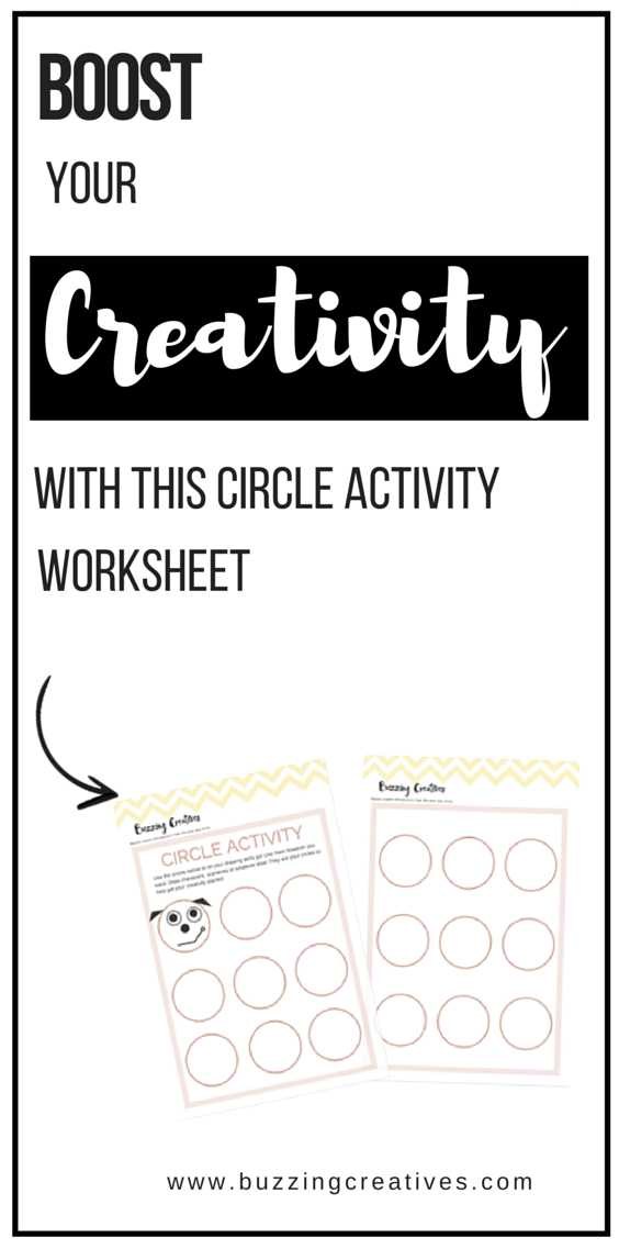 Stock Market Worksheets or Boost Creativity with Creativity Worksheet Circle Activity