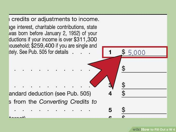 Student Loan Interest Deduction Worksheet 2016 or How to Fill Out A W‐4 with Wikihow