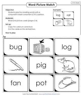 Super Teacher Worksheets Reading Comprehension together with Phonics Worksheets Cvc Words