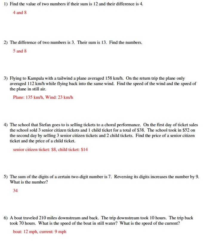 Systems Word Problems Worksheet and Worksheets 44 Best solving Systems Equations by Elimination