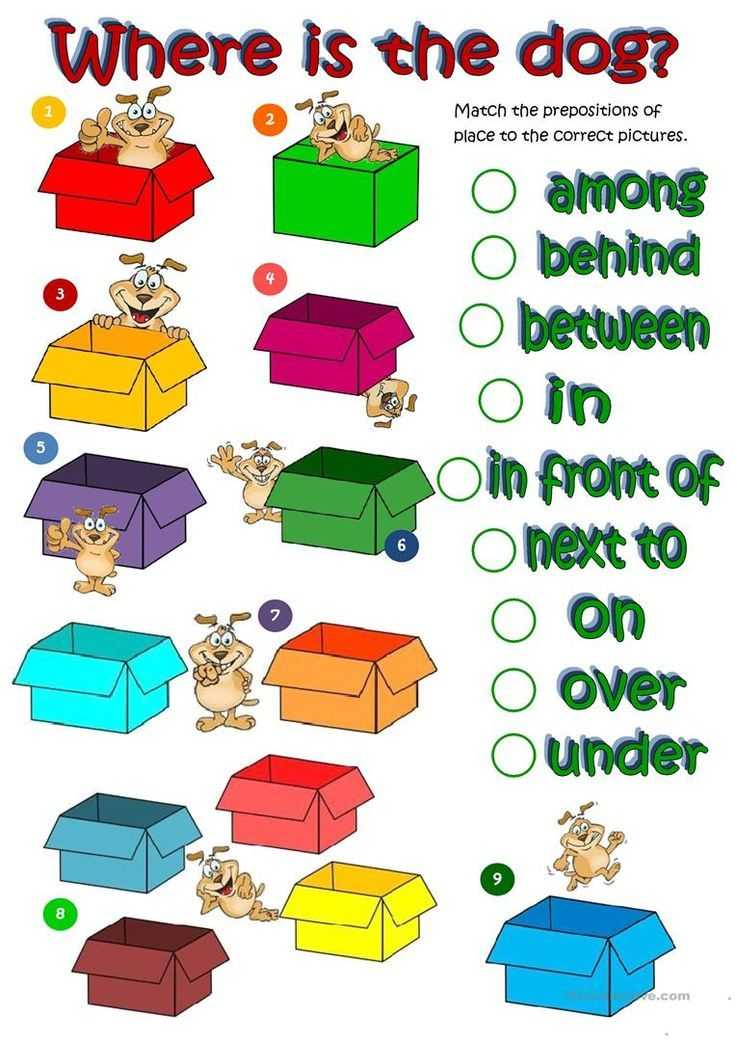 Teacher Made Worksheets together with where S the Dog Prepositions Of Place Worksheet Free Esl